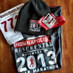 Hat & Finisher's medal